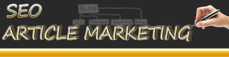 SEO Article Marketing header