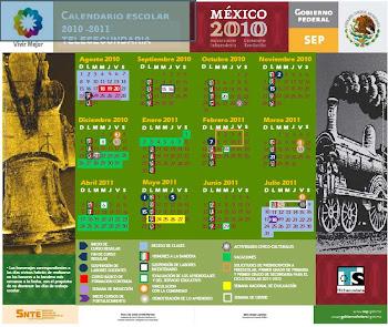 Calendario Escolar Ciclo 2010 - 2011