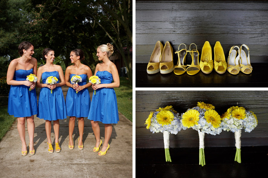 Blue And YellowFlower Wedding Collection