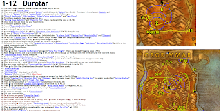 World of Warcraft Joanas Horde Leveling Guide (Levels 1 - 70)