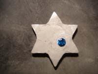 13 estrella con piedra   Colgante de estrella con piedra