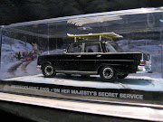 James Bond Car Collection: On Her Majesty's Secret Service