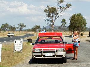 Ford Fairmont med kengurufanger