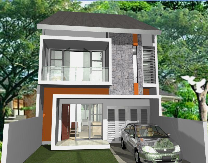 adi tren rumah tinggal design 3d