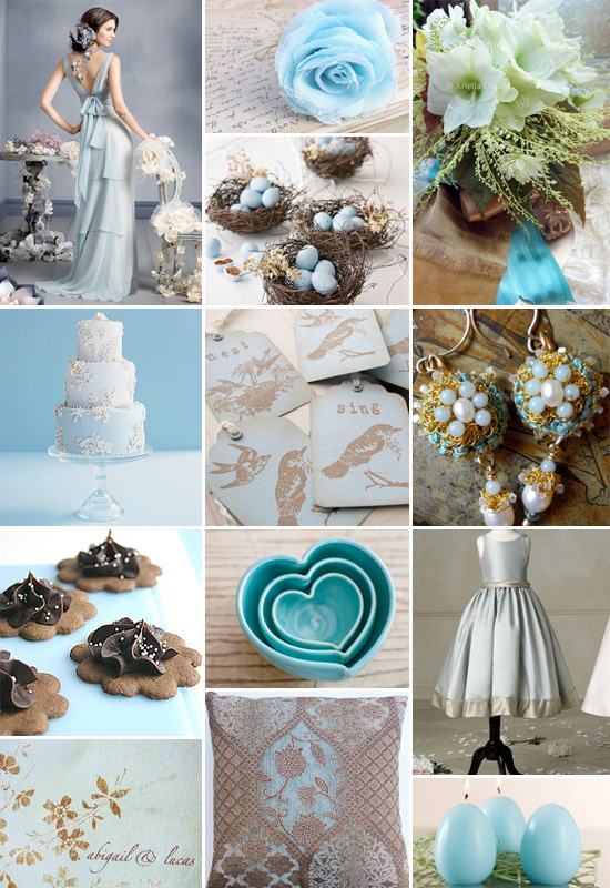 Emily 39s Vintage Wedding Bridal party wear