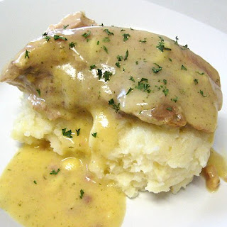 Ranch House Crock Pot Pork Chops