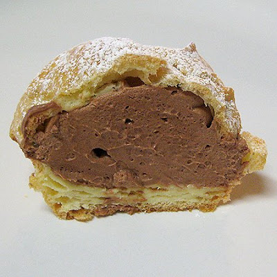 Chocolate Mousse Filled-Cream Puffs