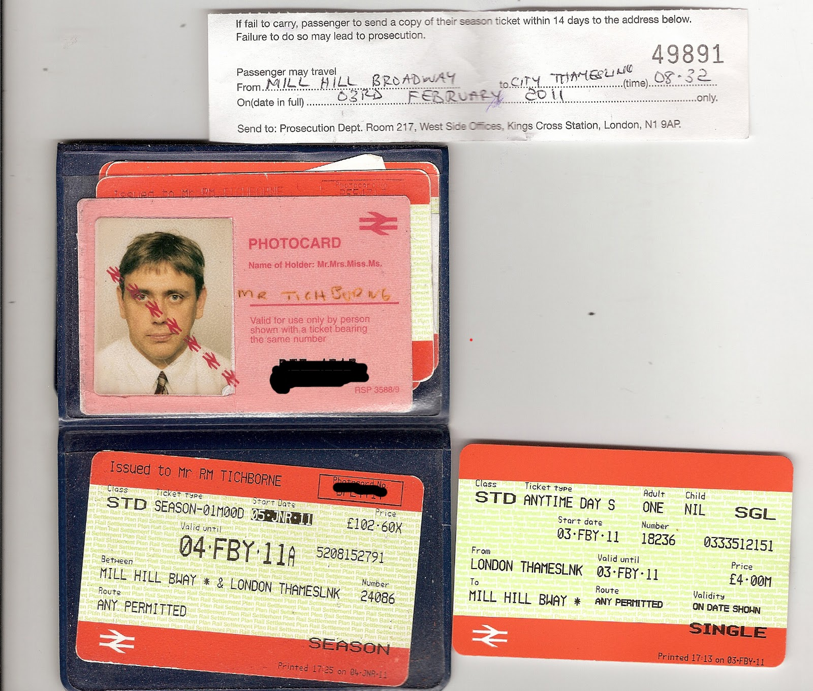 Thameslink Season Ticket >> 99% is ....... The Barnet Eye: More crap from First Crapital Connect - Now I'm treated like a ...