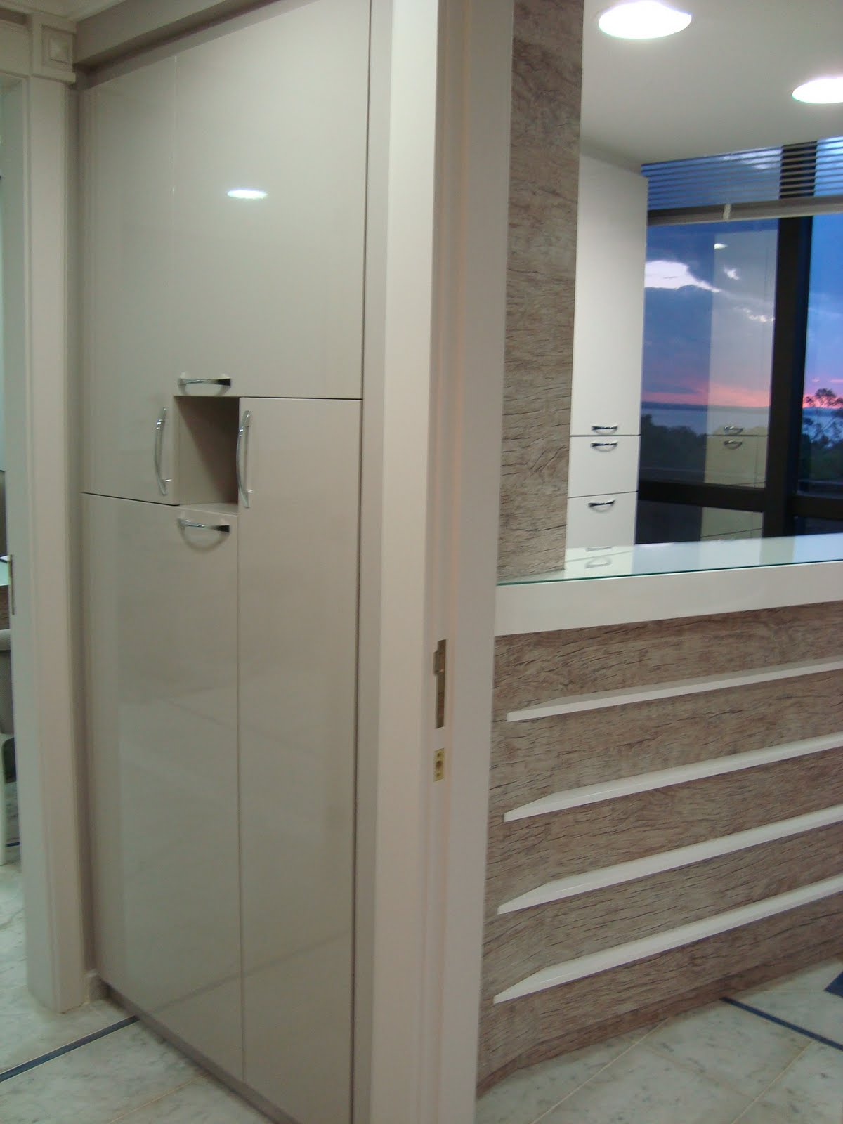 Consultório Médico Recepção Armário Mini Cozinha #344E76 1200 1600
