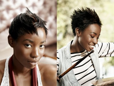 Short haircuts for women, we've already had that before. You must love it.