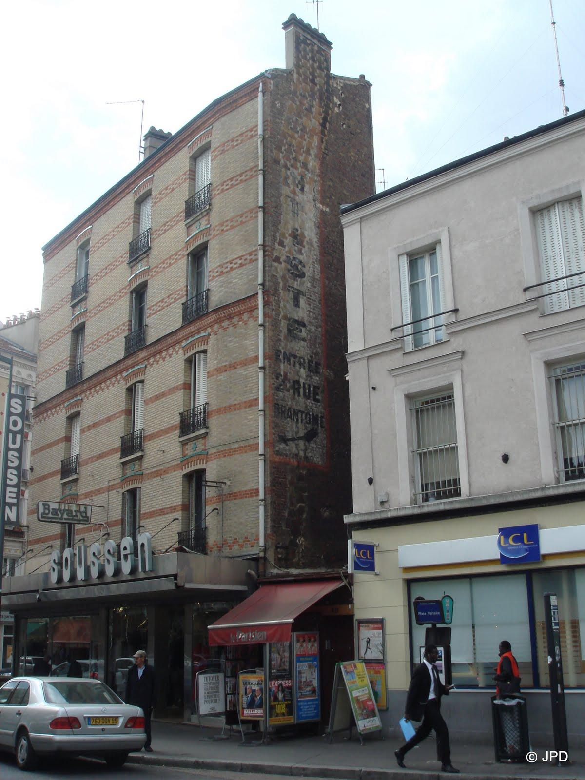 Les murs peints s 39 affichent une belle brochette asni roise - Garage renault argenteuil rue henri barbusse ...