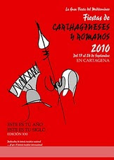 CARTEL FIESTAS CARTHAGINESES Y ROMANOS 2010