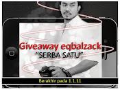 "Giveaway eqbalzack ""SERBA SATU"""
