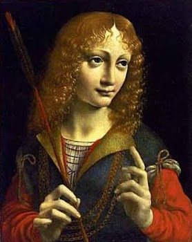 Giangaleazzo Sforza pintado por Leonardo da Vinci