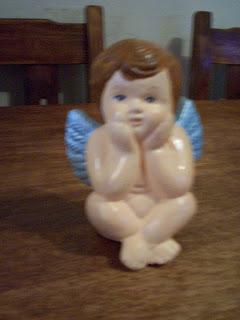 Creaciones mal souvenirs adornos de tortas en porcelana - Angelitos de yeso ...