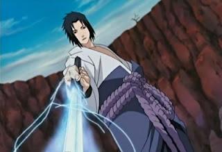 半径のリダイレクト - (Redirecionando o raio) Sasuke-stab