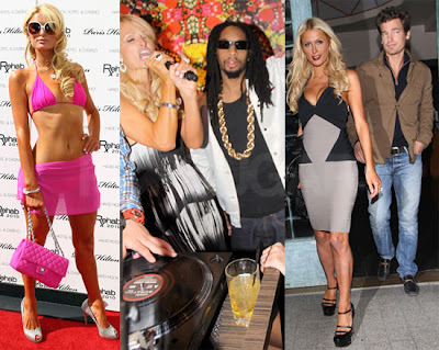 Paris Hilton's Weekend: Ex Reunion, Hard Partying, and Bikini Rehab!
