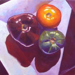 Connie Kleinjans, Heirlooms, 20x20 oil on canvas
