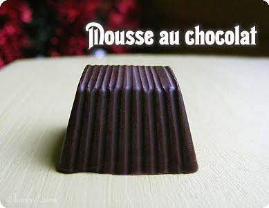 Chocolats fourr s 2009 les choco desserts jasmine cuisine for Mousse au chocolat pierre herme