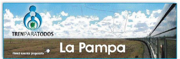 Tren para todos La Pampa