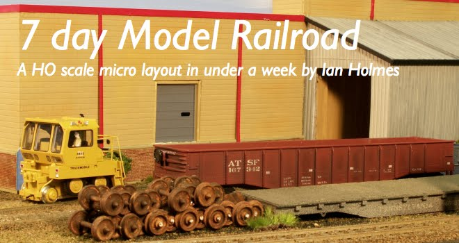 Seven day model railroad