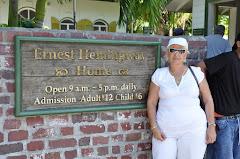 """En el Museo del escritor estadounidense......... """"Ernest Hemingway """""""