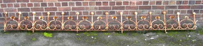 cast iron railing north wales antiques