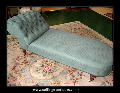 victorian day bed chaise longue