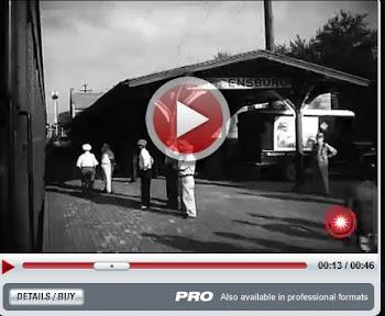 1948 Video, Dewey for President Warrensburg Train Stop