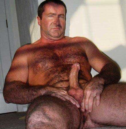 Nude Hairy Old Man