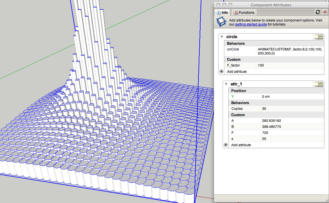 Cloud9 dynamic components parametric design for Cloud 9 architecture