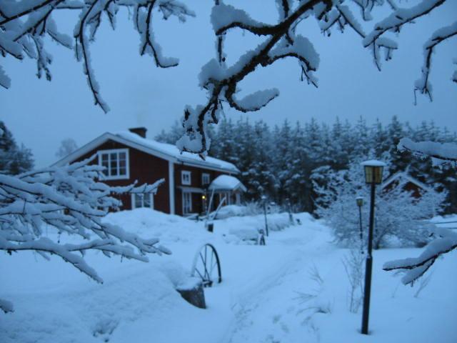 Vårt Cafe i vinterskrud