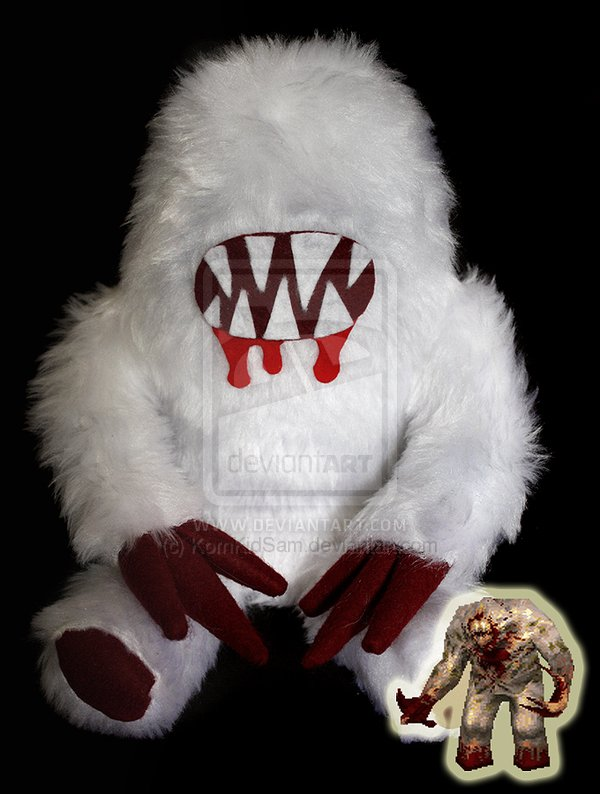 The Shambler is coming back? MAKE IT SO (more shambler ... Quake Shambler Plush