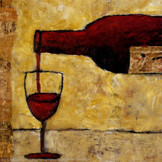 red wine by judi bagnato