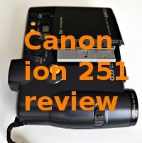 Canon ion 251 (1988) review