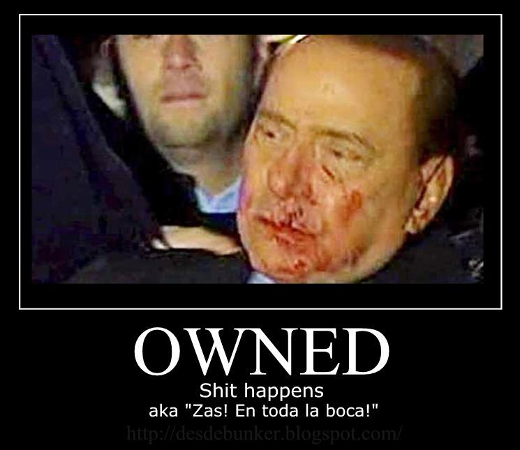 Zas,en toda la boca Berlusconi%2Bowned%2Bpunch
