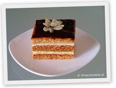 Ciasto miodowe z masą serową - coś innego niż sernik