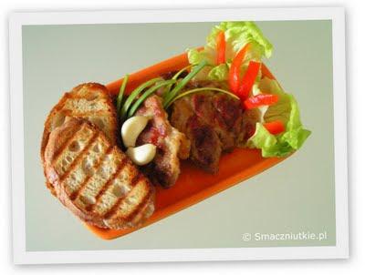 Karczek z grilla elektrycznego - szybkie smaczne danie