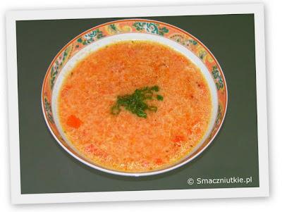 Pomidorowa z lanymi kluskami - ulubiona zupa dzieci