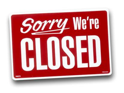 Server closing