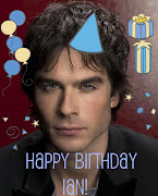 Its Ian's Birthday today (December 8th) and on behalf of us bloggers .