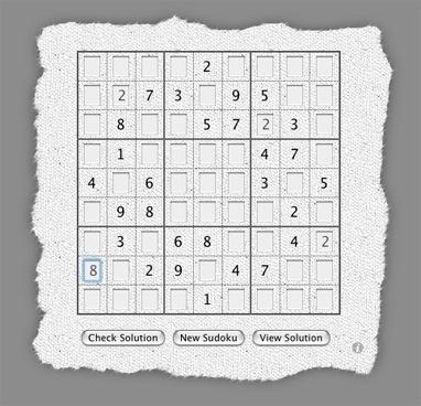 Sudoku Fun Widget