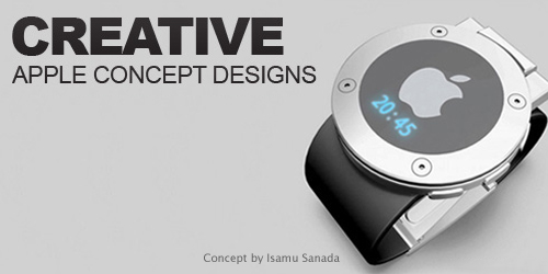 creative apple concept designs
