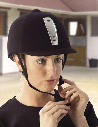 horse riding hat. your current riding helmet