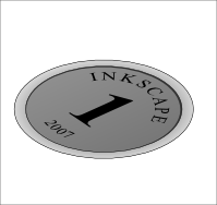 inkscape coin illustration tutorial