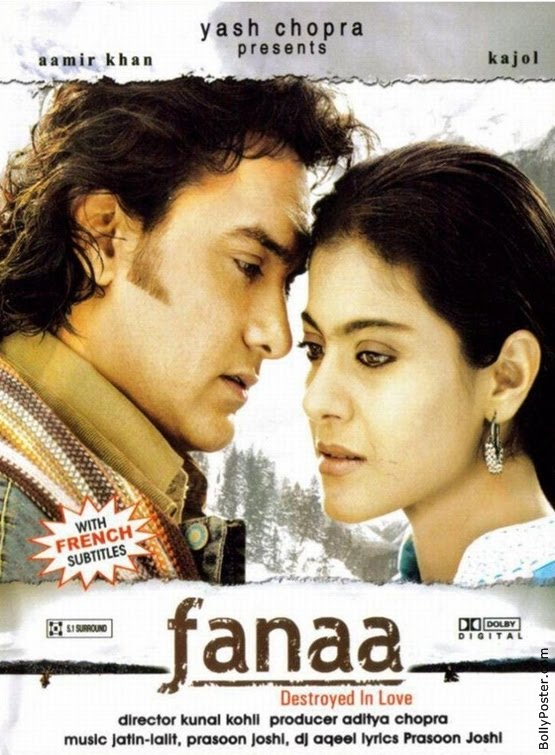 Fanaa 2006 Hindi BluRay 720p 1.2GB AAC MKV