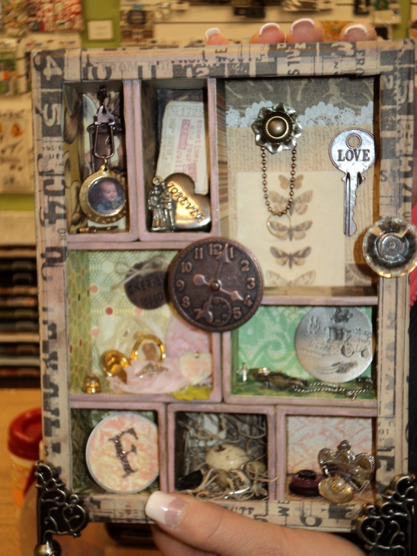 The gals in the Tim Holtz