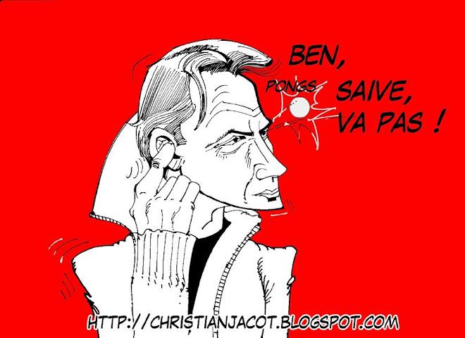 Jean-Michel Saive - J'épongiste les balles!