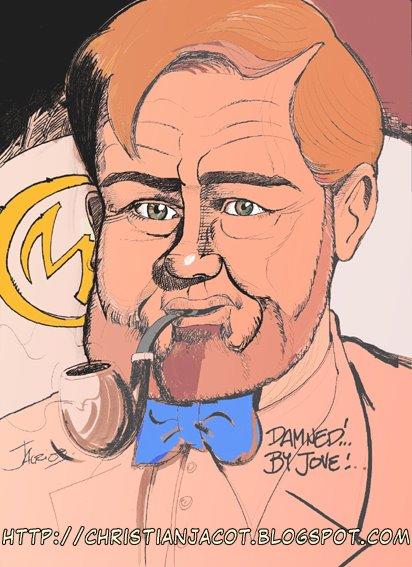 Philip Mortimer - Une marque jaune sur mon tweed?!Damned!