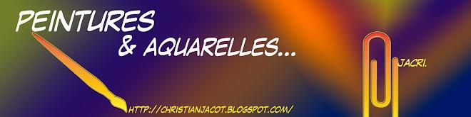 PEINTURES AQUARELLES GOUACHES